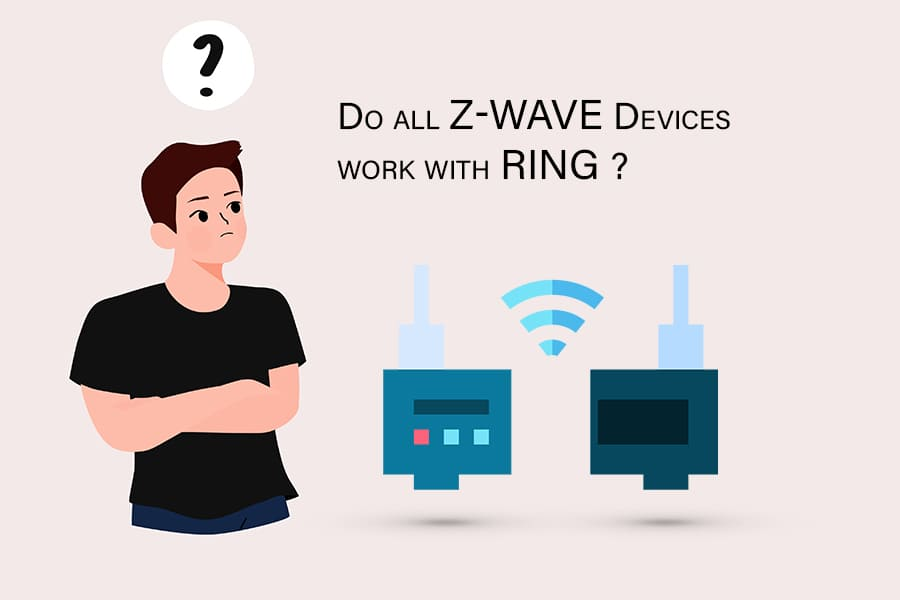 z-wave devices with ring