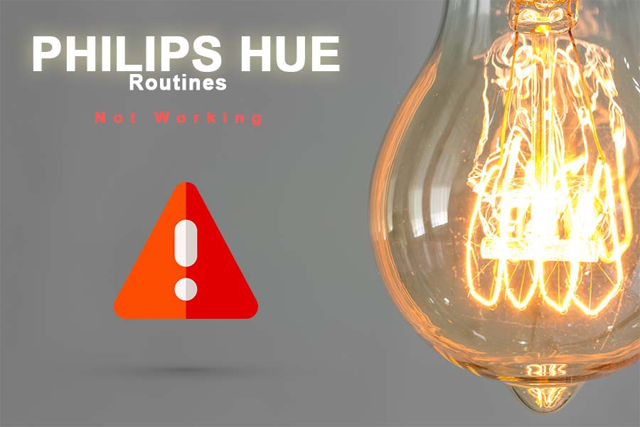 philips hue routine not working