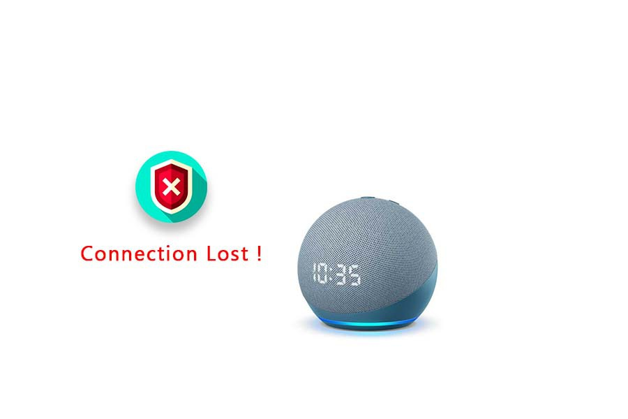 sorry your echo lost its connection