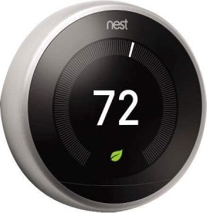 Nest Labs Google Nest Learning Thermostat T3008us