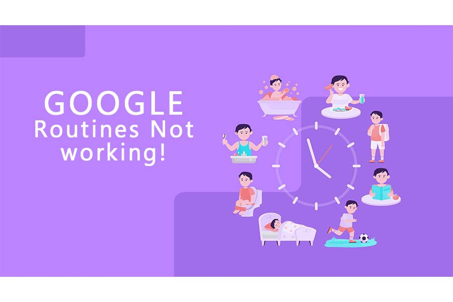 google routines not working