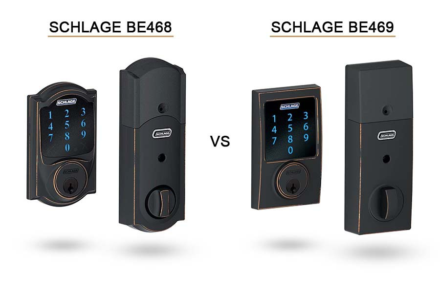 schlage be468 vs be469