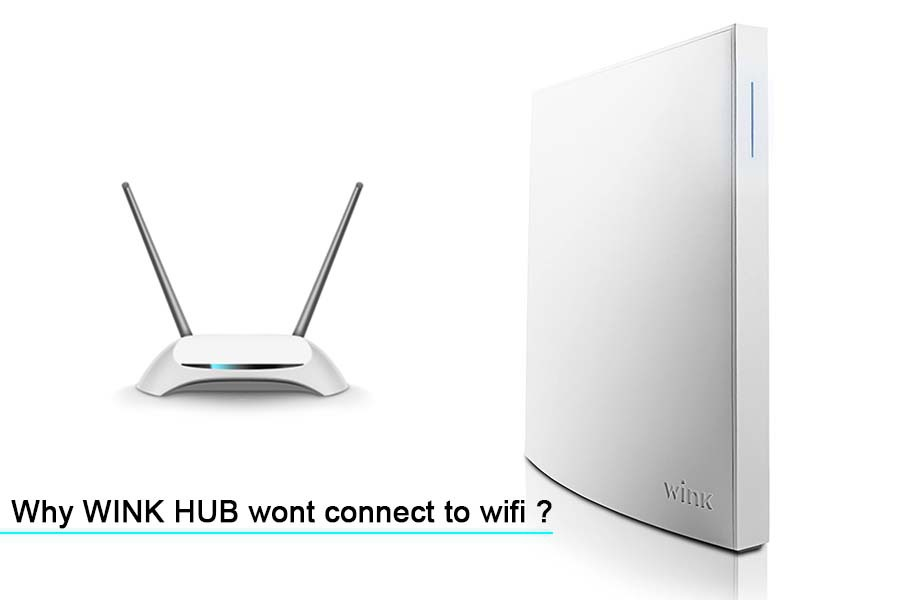 wink hub won't connect to wi-fi