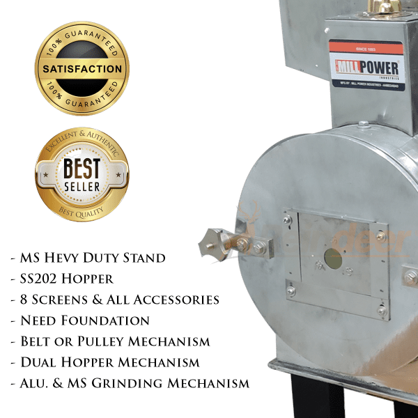 2 in 1 Flour Mill Machine specifications