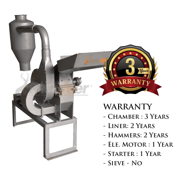 blower pulverizer ms warranty