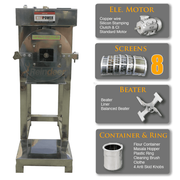 ms compact pulverizer machine