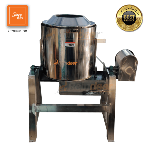roasting and drying machine