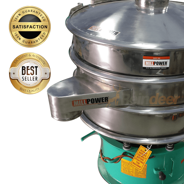 vibro sifter SS food grade best quality